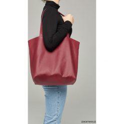Zamszowa torba - shopper black. Czarne shopper bag damskie Pakamera, z bawełny, na ramię, zamszowe. Za 139,00 zł.