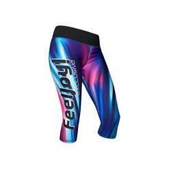 LEGGINSY 7/8 EXCLUSIVE BLUE WAVE. Szare legginsy sportowe damskie marki Fasardi, l, w kolorowe wzory. Za 240,00 zł.