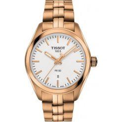RABAT ZEGAREK TISSOT T - CLASSIC PR 100. Białe zegarki męskie TISSOT, ze stali. W wyprzedaży za 1390,40 zł.