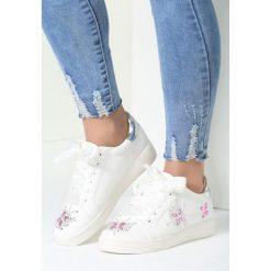 Buty sportowe damskie: Białe Buty Sportowe Sateen
