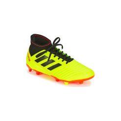 Buty do piłki nożnej adidas  PREDATOR 18.3 FG. Żółte halówki męskie Adidas, do piłki nożnej. Za 319,20 zł.