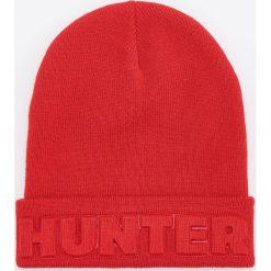 Czapka HUNTER - Czerwony. Białe czapki męskie marki Reserved, l, z dzianiny. Za 39,99 zł.