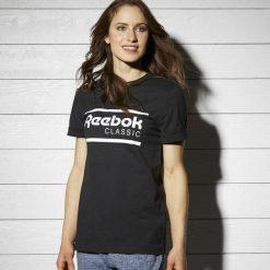 Koszulka Reebok Iconic GR (BK4149). Czarne t-shirty damskie marki Alpha Industries, z materiału. Za 64,99 zł.
