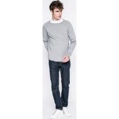 Only & Sons - Sweter. Szare swetry klasyczne męskie Only & Sons, l, z bawełny, z okrągłym kołnierzem. Za 129,90 zł.