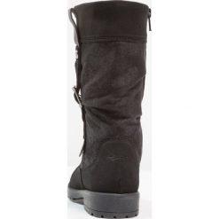 Superfit GALAXY Śniegowce schwarz. Czarne buty zimowe damskie marki Superfit, z materiału. W wyprzedaży za 367,20 zł.