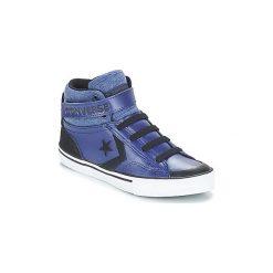 Buty Dziecko Converse  PRO BLAZE STRAP HI. Niebieskie trampki chłopięce marki Converse. Za 239,00 zł.
