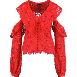 Topy damskie: Bardot VALENTINA LACE TOP Bluzka raspberry