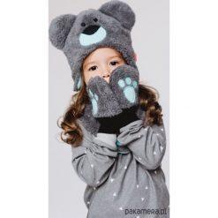Czapka w zestawie z łapkami i szalikiem Blue. Niebieskie czapeczki niemowlęce Pakamera. Za 109,00 zł.