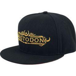 Czapki damskie: Mastodon Logo Czapka Snapback czarny