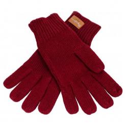Pepe Jeans Rękawiczki Damskie Elissa Burgund. Czerwone rękawiczki damskie Pepe Jeans, z jeansu. Za 123,00 zł.