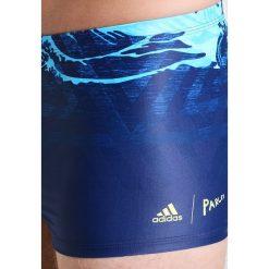 Adidas Performance FIT PAR Kąpielówki blue. Niebieskie kąpielówki męskie marki adidas Performance, z elastanu. Za 169,00 zł.