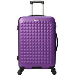 """Walizki: Walizka """"Anvers"""" w kolorze fioletowym – 46,5 x 68 x 29,5 cm"""