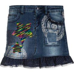 Desigual ROSSEAU Spódnica jeansowa jeans. Niebieskie spódniczki dziewczęce jeansowe marki Desigual. W wyprzedaży za 149,40 zł.