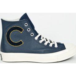 Converse - Trampki. Szare trampki męskie Converse, z materiału, na sznurówki. W wyprzedaży za 319,90 zł.