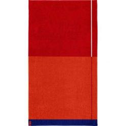 """Kąpielówki męskie: Ręcznik plażowy """"Block"""" w kolorze czerwonym"""