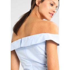 Bluzki asymetryczne: Bardot SARA Bluzka powder blue