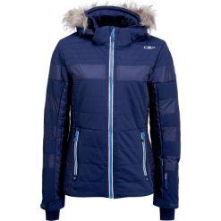CMP WOMAN ZIP HOOD Kurtka narciarska navy. Niebieskie kurtki damskie narciarskie CMP, z elastanu. W wyprzedaży za 959,20 zł.