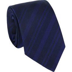 Krawat Seven Fold KWWR011003. Niebieskie krawaty męskie Giacomo Conti, z tkaniny. Za 199,00 zł.