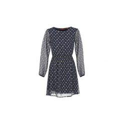 Sukienki krótkie S.Oliver  EBASATE. Niebieskie sukienki mini marki S.Oliver, s. Za 255,20 zł.