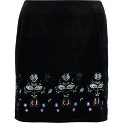 Minispódniczki: NAF NAF Spódnica trapezowa noir