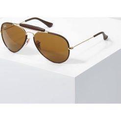 RayBan AVIATOR Okulary przeciwsłoneczne gold. Szare okulary przeciwsłoneczne damskie aviatory marki Ray-Ban, z materiału. Za 719,00 zł.