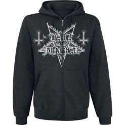 Bejsbolówki męskie: Dark Funeral Satanic Symphonies Bluza z kapturem rozpinana czarny