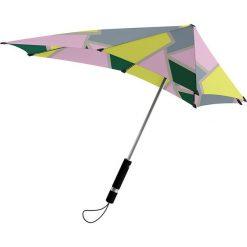 """Parasole: Parasol """"Automatic"""" w kolorze szaro-jasnoróżowym – 91 x 91 cm"""