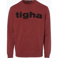 Tigha - Męska bluza nierozpinana, czerwony. Czerwone bluzy męskie marki KALENJI, m, z elastanu, z długim rękawem, długie. Za 249,95 zł.