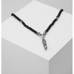 Royal Ego Naszyjnik silvercoloured/black. Szare naszyjniki męskie Royal - Ego. Za 379,00 zł.