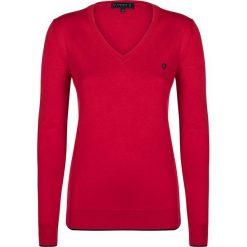 """Swetry klasyczne damskie: Sweter """"Air"""" w kolorze czerwonym"""