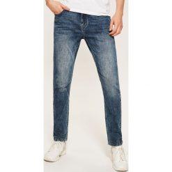 Jeansy slim fit - Niebieski. Niebieskie jeansy męskie relaxed fit marki s.Oliver RED LABEL. Za 129,99 zł.