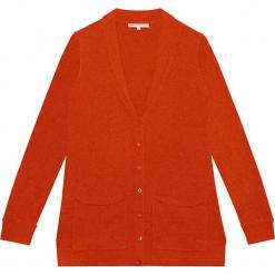 Kardigan kaszmirowy w kolorze jasnobrązowym. Brązowe kardigany damskie marki Ateliers de la Maille, z kaszmiru. W wyprzedaży za 591,95 zł.