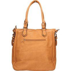 TOREBKA F09-2216. Brązowe torebki klasyczne damskie marki ARTENGO, z materiału. Za 79,99 zł.
