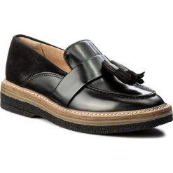 Mokasyny damskie: Mokasyny CLARKS – Zante Spring 261266724 Black Combi Leather