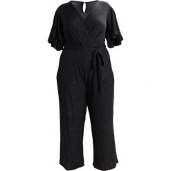 Kombinezony damskie: Dorothy Perkins Curve STAR V NECK Kombinezon black