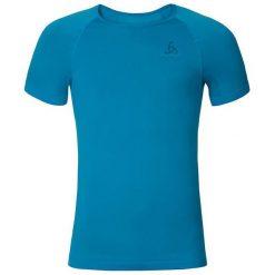 Odlo Koszulka męska Evolution X-Light turkusowa r. L (182042). Niebieskie t-shirty męskie marki Odlo, l. Za 109,46 zł.