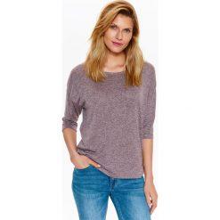 T-shirty damskie: T-SHIRT DAMSKI Z OZDOBNYMI PLECAMI