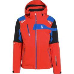 Kurtki narciarskie męskie: Spyder TITAN Kurtka narciarska burst/black/french blue