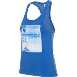 Damski top 4F Oceans Blue. Czerwone topy sportowe damskie marki Astratex, w koronkowe wzory, z wiskozy. Za 45,99 zł.