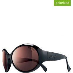 """Okulary przeciwsłoneczne """"Marquises"""" w kolorze czarno-fioletowym. Brązowe okulary przeciwsłoneczne damskie marki Triwa, z tworzywa sztucznego. W wyprzedaży za 474,95 zł."""