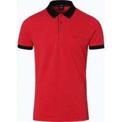 BOSS - Męska koszulka polo – Phillipson 26, czerwony. Czerwone koszulki polo Boss, m. Za 429,95 zł.