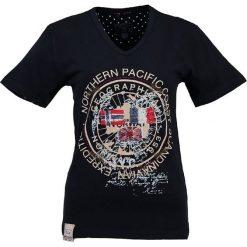 """T-shirty damskie: Koszulka """"Jashley"""" w kolorze granatowym"""