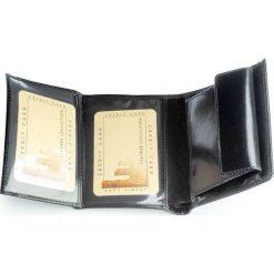 Ekskluzywny portfel męski Paolo Peruzzi. Czarne portfele męskie Paolo Peruzzi, ze skóry. Za 139,00 zł.