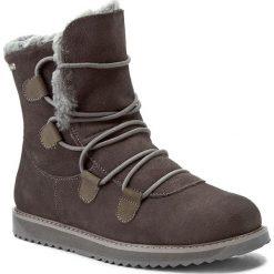 Buty EMU AUSTRALIA - Kamona W11551 Charcoal. Szare buty zimowe damskie marki EMU Australia, ze skóry. W wyprzedaży za 459,00 zł.