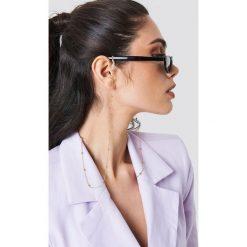 Łańcuszki damskie: NA-KD Trend Łańcuszek do okularów z detalami - Gold