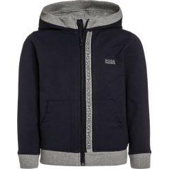 Bejsbolówki męskie: BOSS Kidswear Bluza rozpinana bleu cargo
