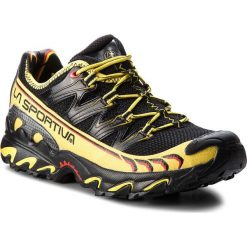 Buty LA SPORTIVA - Ultra Raptor 16UBK Black. Czarne buty trekkingowe męskie La Sportiva, z materiału, outdoorowe. W wyprzedaży za 519,00 zł.