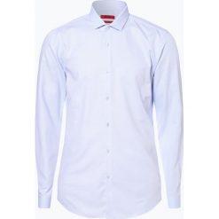 HUGO - Koszula męska – Erondo, niebieski. Niebieskie koszule męskie slim marki HUGO, m, z bawełny. Za 429,95 zł.