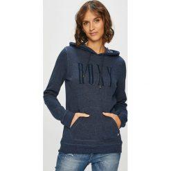 Roxy - Bluza. Szare bluzy z kapturem damskie marki Roxy, m, z nadrukiem, z bawełny. W wyprzedaży za 159,90 zł.