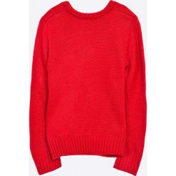 Blukids - Sweter dziecięcy 98-128 cm. Czerwone swetry klasyczne damskie Blukids, z dzianiny, z okrągłym kołnierzem. W wyprzedaży za 59,90 zł.
